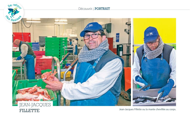 Jean Jacques Fillette contremaître atelier de filetage Les Produits Côtiers Capécure